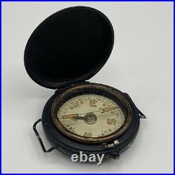 Rare WW2 MK VI British SOE, SAS, Long Range Desert Group Wrist Worn Compass