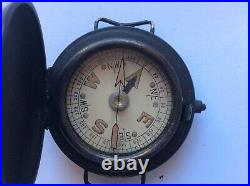 Rare WW2 MK VI British SOE SAS Long Range Desert Group Wrist Worn Compass workng