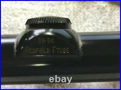 Redfield 3X-9X40 1 Tube Accu-Range Scope For Vietnam M40 Sniper Rifle Trac