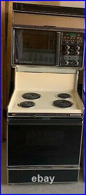 Retro GE Microwave Cooking Center/Range/Oven Nostalgic Appliance Will Ship