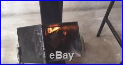 Rocket Stove Camping Stove With 2 Tables Include