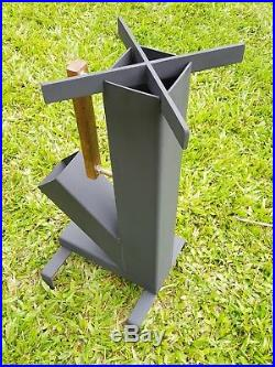 Rocket Stove Self Feeding Camping Stove Wood Stove Outdoor Stove
