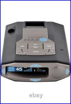 SIB Escort MAX360c Laser Radar Detector WiFi Bluetooth 360° Extreme Range OLED