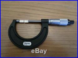 STARRETT 486P-1 Blade Micrometer, 0-1 Range. 001 Graduation Machinist NEW