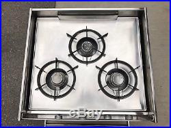 Seaward Hillerange 3 Burner Gimbaled Propane Stove/oven
