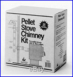 Selkirk 284875 Pellet Stove Vent Kit, 3-4