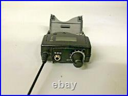 Sennheiser EK2000 IEM Stereo Body Pack Receiver GBw Band Range 606-678 MHz 2000