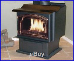 Sierra 2100 PB Pedestal Wood Stove Heater
