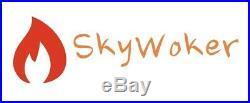 SkyWoker Chinese Wok Range Commercial 2 Burner 200,000 BTU NSF CSA