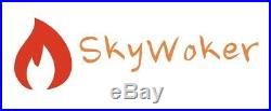 SkyWoker Chinese Wok Range Commercial 3 Burner 300,000 BTU NSF CSA