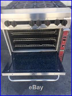 Southbend 6 Burner Gas Range Oven Stove