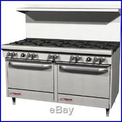 Southbend S60DD 10 Burner 60 Commercial Restaurant Range Stove