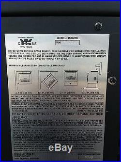 St Croix Auburn Corn Pellet Stove, 40,000 BTU Refurbished High Efficiency