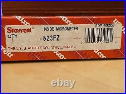 Starrett 823FZ Tubular Inside Micrometer, 1.5-32 Range. 001 Graduation