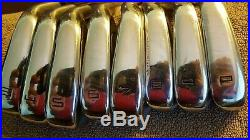 TAYLORMADE P760 3-pw steel shaft NSPRO 950 R Flex USED HIT ONCE ON RANGE
