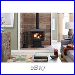 TIMBER RIDGE 50-TRSSW02 Large Wood Stove, heats 2400 sq ft, - New in box