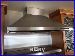 Thermador 36 Range 36 Stove Pro Grand 6 Burners-Stainless with Exhaust hood