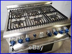 Thermador PRL366EG All Gas Range 36 Stove Pro Grand 6 Burners