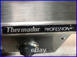 Thermador Professional Six Burner Gas Range, Stove Top, Cook Top. 36 In. Long