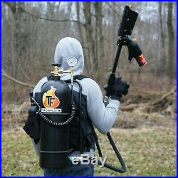 Throwflame XL18 Flamethrower legal to own with 110 ft range. Flame thrower