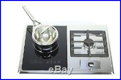 True Induction Built-in RV Stove with Gas Burner and Induction Cooktop