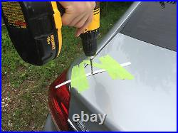 UN-PAINTED REAR SPOILER for 2005-2012 LAND ROVER Range Rover HSE MADE IN USA