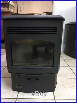 Used Quadrafire Santafe Pellet Stove