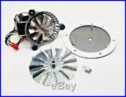 "Kozi Combustion Exhaust Fan Motor Kit 4 3//4/"" Paddle FAN12003 AMP-UNIVCOMBKIT"