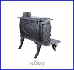 US Stove Small Logwood Cast Iron Wood Stove 1269E