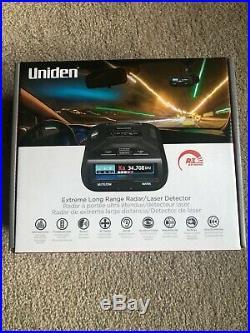 Uniden R3 Extreme Long Range Radar Laser Detector GPS DSP Voice Alert Silver