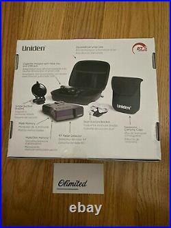 Uniden R7 Extreme Long Range Laser/Radar Detector Built-in GPS WithReal-Time Al