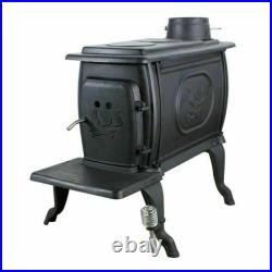 United States Stove Company 1269E Cast Iron Wood Burning Stove