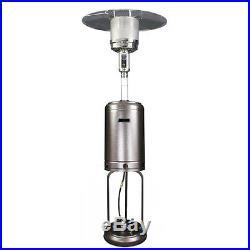 United States Stove Company HomComfort Round Mushroom Propane Patio Heater