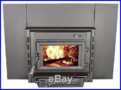 United States Stove Company Medium EPA Certified Wood Burning Fireplace Insert