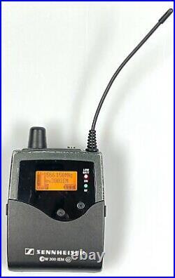 Used Sennheiser ew 300 IEM G3-G Range, Wireless Transmitter & Bodypack Receiver