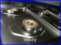 VIKING Tuscany TVDR4806BDB 48 Pro-Style Dual Fuel Range Stove
