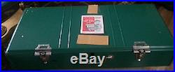 VINTAGE COLEMAN 3 BURNER CAMP STOVE 426D499 DATED 4-72 With BOX NEW OLD STOCK! G