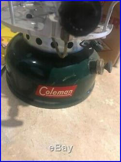 VINTAGE COLEMAN SPORTMASTER STOVE 500A with ORIGINAL BOX 8-1958 1-BURNER EC