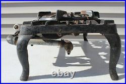 VTG Original Antique Griswold 202 Cast Iron 2 Burner Camping Stove NO RESERVE