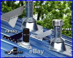 VentSaver HD Stove Chimney Pipe Protect Metal Roof SnowBreaker