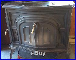 Vermont Castings 1980 Defiant Parlor Wood Burning Stove | United ...