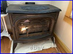 Vermont Castings Cast-Iron Stove Radiance Line Propane/Natural Gas! 1995