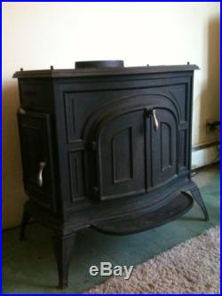 Vermont Castings Defiant Parlor Furnace Wood Burning Stove | United ...