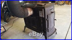 Vermont Castings Defiant Parlor Furnace Wood Burning Stove