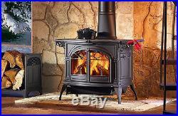 Vermont Castings Wood Stove Encore Catalytic Classic BLACK Cast Iron Flex Burn