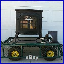 Vermont castings wood stove Intrepid II