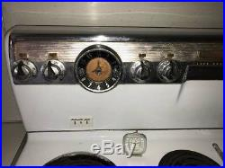 Vintage 1950's General Electric Stratoliner or Liberator White Stove/Oven Range