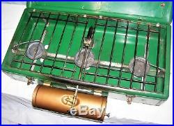 Vintage 1951-53 Coleman 3-burner 426a Camp Gas Fuel Stove Works Great