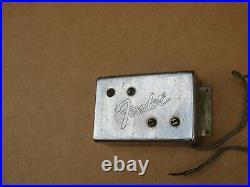 Vintage 1974 Fender Telecaster Wide Range Humbucker Bass Guitar Pickup 25.24K