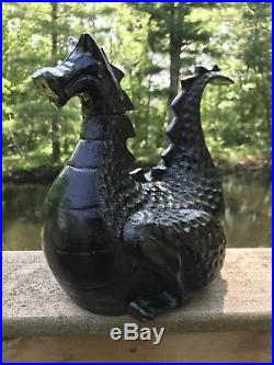 Vintage Cast Iron Magic Dragon Wood Stove Humidifier Gates General 15lbs Steamer
